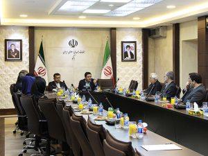 جلسه مدیران گروه مدرن در محل سفارت ایران و آذربایجان