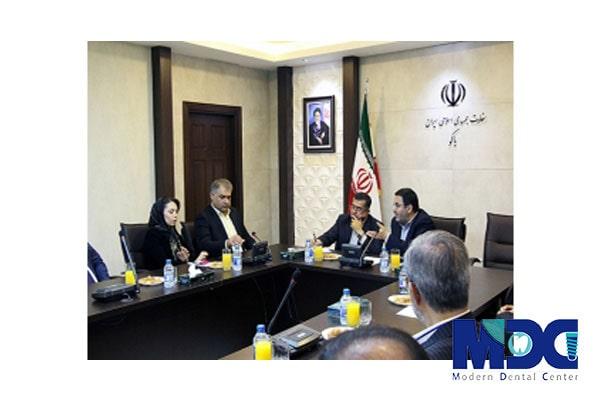تیم مدرن در سفارت جمهوری اسلامی ایران در باکو