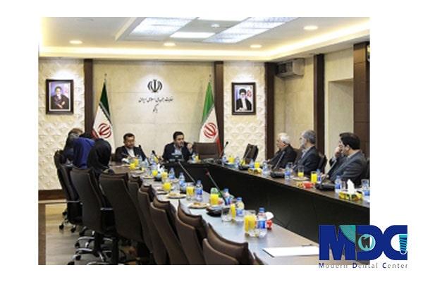 نشست بابک مسلمی با سفیر ایران در باکو