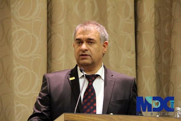 جناب آقای بابک مسلمی مدیر عامل کلینیک مدرن-کلینیک دندان پزشکی مدرن