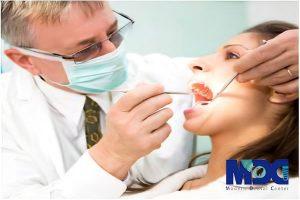 معاینه و بررسی عوارض کاشت ایمپلنت