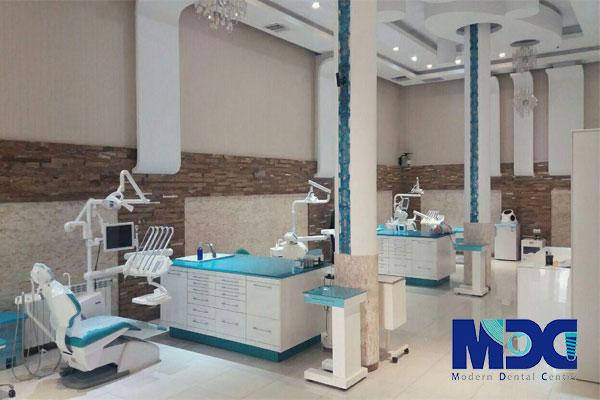 طراحی داخلی بخش درمان کلینیک مدرن