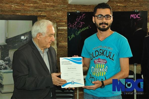 دکتر اجلالی و دانشجو شهر باکو