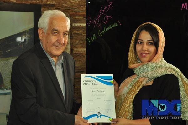 دکتر اجلالی و دانشجو باکو خانم فراهانی