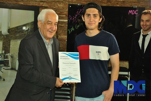 دکتر اجلالی و دانشجو پزشکی باکو