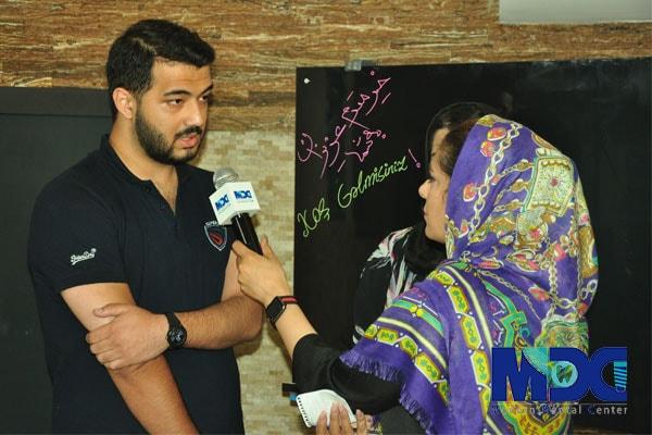 دانشجو باکو آقای عزیزی