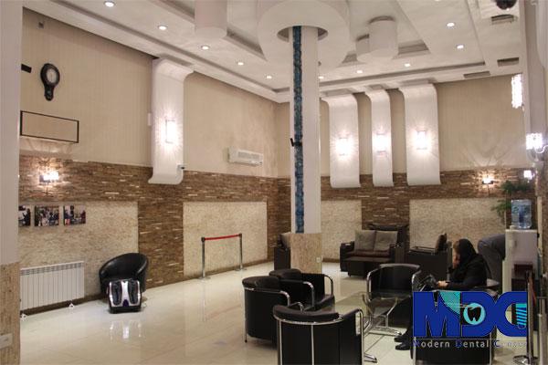 طراحی و دکوراسیون داخلی دندانپزشکی مدرن