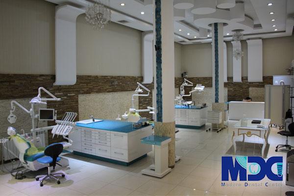 معماری کلینیک دندانپزشکی به سبک مدرن