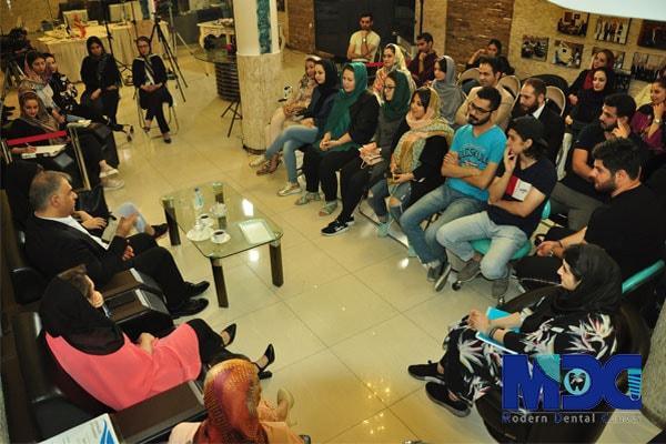 دیدار دانشجویان باکو با مدیرعامل کلینیک مدرن