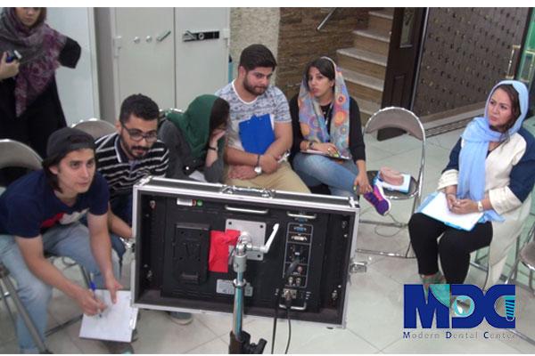 حضور دانشجویان باکو در بخش جراحی ایمپلنت مدرن