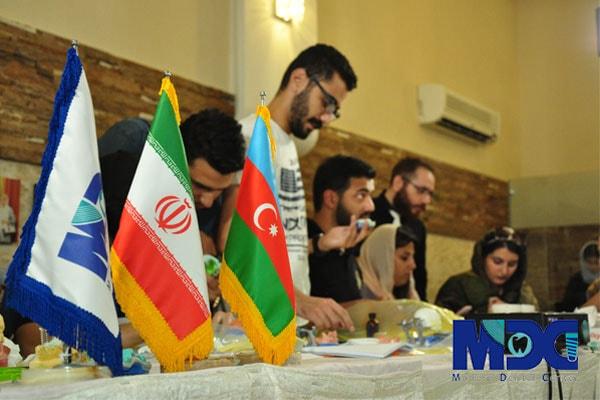 حضور دانشجویان باکو در تهران