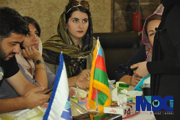 حضور دانشجویان دندانپزشکی در تهران