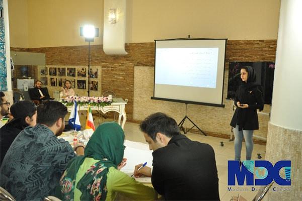 آموزش قطعات و ممیزی در لابراتوار به دانشجویان باکو