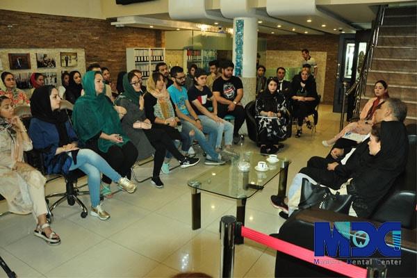 حضور دانشجویان باکو در کلینیک مدرن