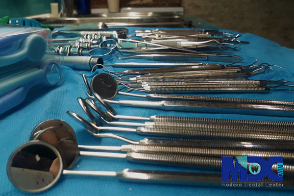 بخش استریلیزاسیون کلینیک دندانپزشکی مدرن