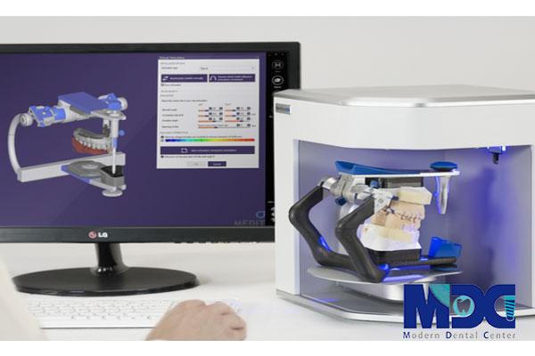 اسکنر سه بعدی - کلینیک دندانپزشکی مدرن