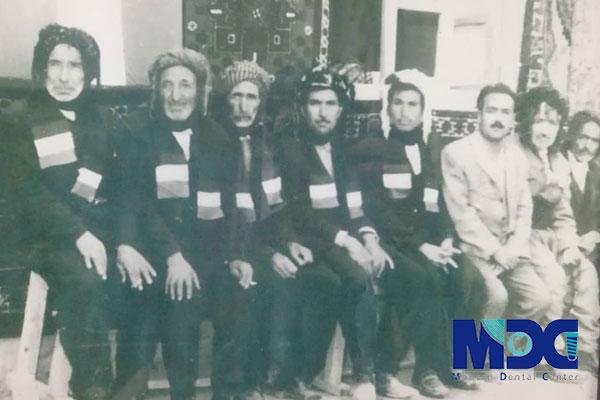 پوشش مردم ایران در گذشته
