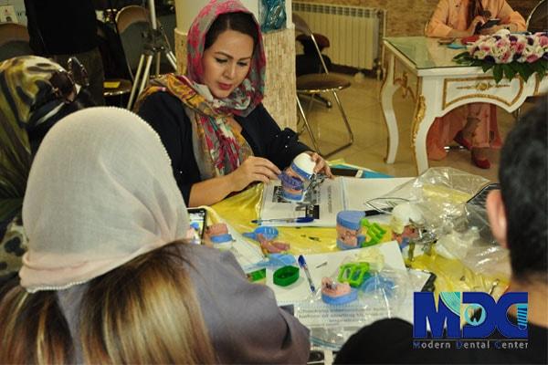 دانشجویان باکو - دوره جامع پروتز دندان