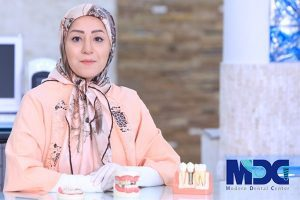 زهرا حمیدی - ایمپلنت به روش دیجیتال