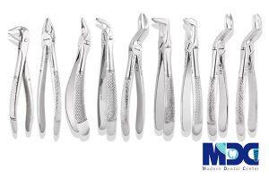 انواع فورسپس های دندانپزشکی