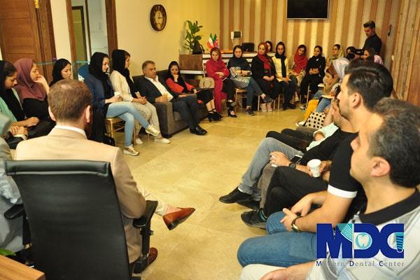 گروه مدرن در افتتاحیه ی شعبه دوم کلینیک دندانپزشکی مدرن