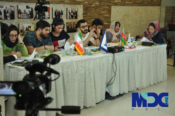 دانشجویان باکو در دوره آموزشی روکش ایمپلنت