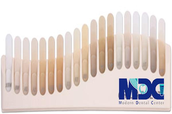 شید رنگ های گرادیا-کلینیک دندانپزشکی مدرن