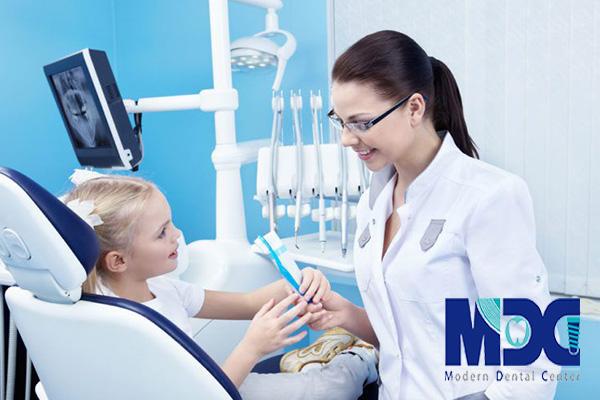زیباسازی دندان کودکان!