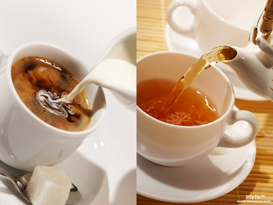 چای و نوشیدنی های رنگی