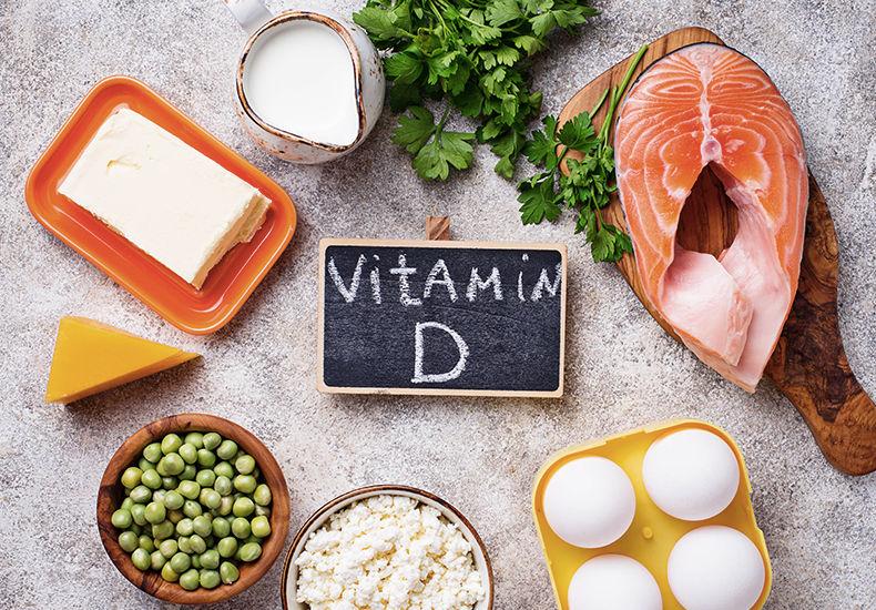 رژیم غذایی غنی از ویتامین D