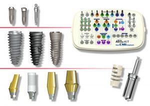 ابزار های ایمپلنت
