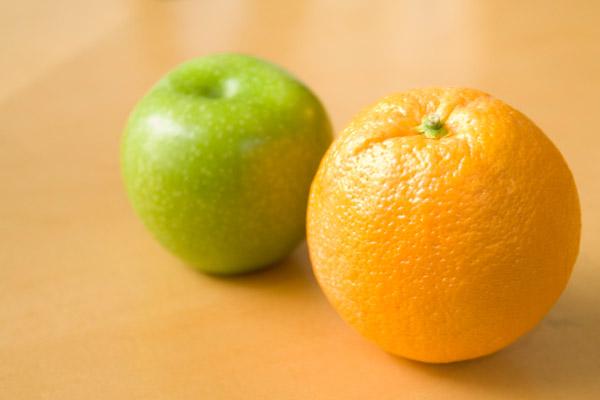 میوههای حاوی ویتامین C