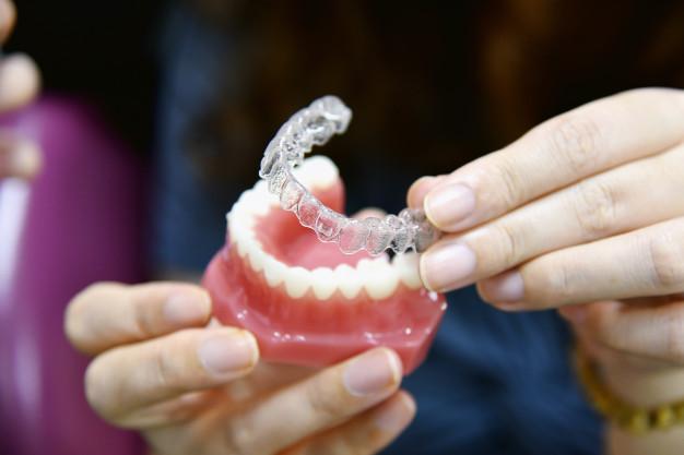 قالب تهیه شده از دهان بیمار